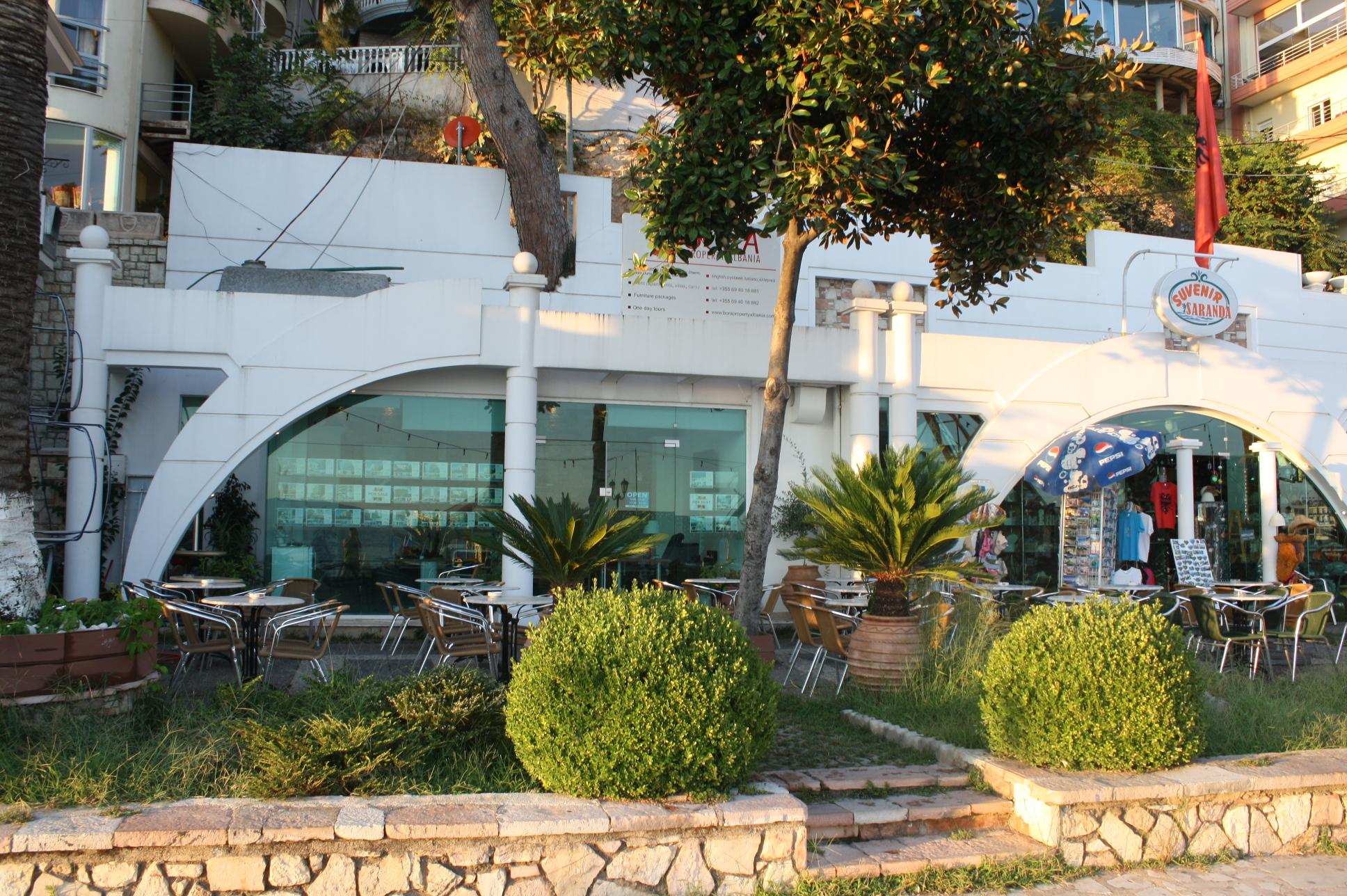 Офис Bora Property на центральной набережной Саранды